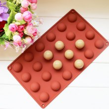 Small Semicircle Shape Cake Chocolate Baking Mold