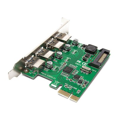 PCI - E to 4 USB3.0 Converter Adapter Card