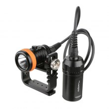 ORCATORCH D620 Diving LED Flashlight CREE XPH70