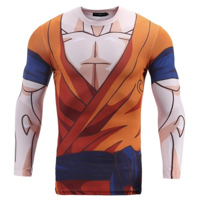 CTSmart Male Sweat Absorption Fast Dry Running Tee