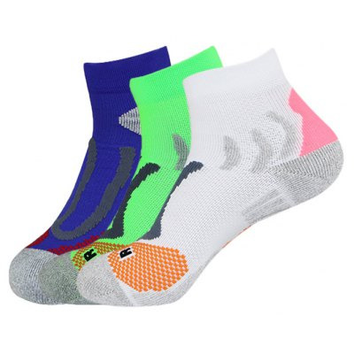 3 Pairs Unisex Sports Socks for Running Athletic