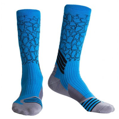 5 Pairs Men Sports Compression Socks for Running Athletic