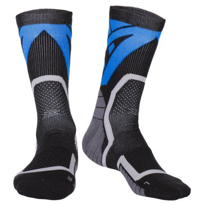 2 Pairs Unisex Sports Compression Socks for Running Travel