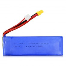 Original MJX B3 - 018 7.4V 2300mAh 25C LiPo Battery