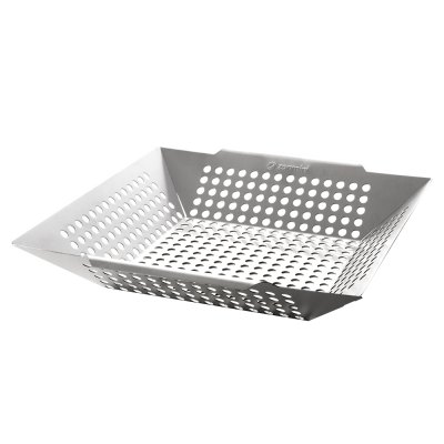 zanmini Stainless Steel Square Grilling Basket