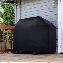 210D Polyester Waterproof BBQ Grill Cover