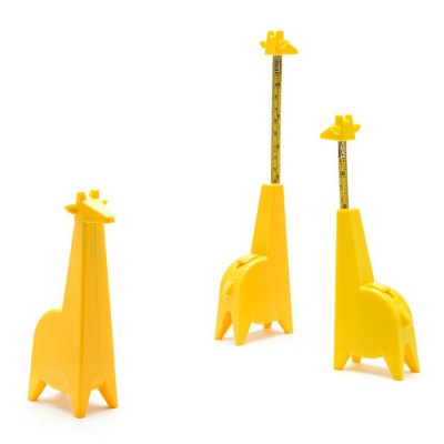 Giraffe Design Spring Steel Measuring Tape Ruler 15m 1PC