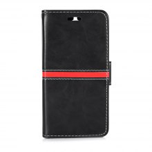 Back Magnetic Buckle Flip PU Leather Wallet Phone Case for Huawei Y5 2017