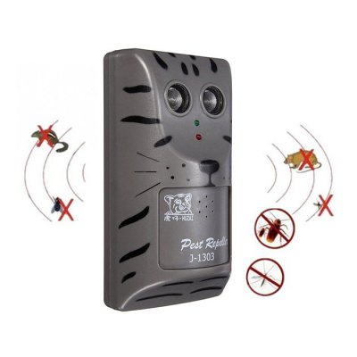 Wall-mounted Ultrasonic Electronic Mouse Repeller