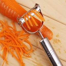 DIHE 2-In-1 Vegetable Potato Slicer Peeler
