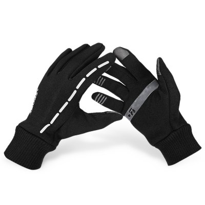 Pair of Winter Full-finger Touch Warm-keeping Screen Gloves
