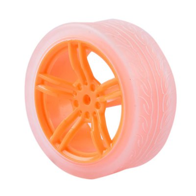 PXWG 1PJ000266 - 4 TT Motor Wheel No.7 for DIY 1PC