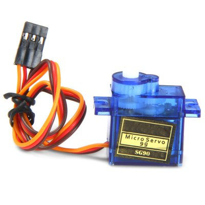 SG90S Micro Analog Servo Gear 9g with Cross Arm for RC Models Biped Robotics