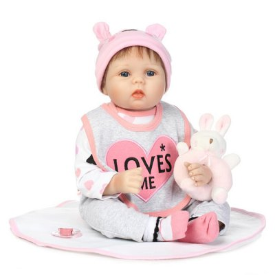 Reborn Baby Doll Sleep Helper Early Education Toy Gift