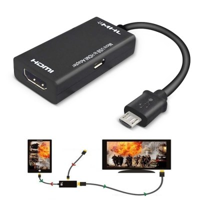 Micro USB to HDMI MHL Adapter