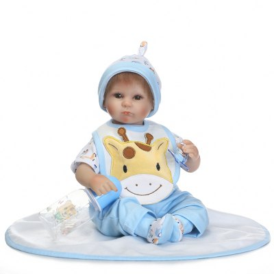 Simulation Reborn Baby Doll Stuffed Pretend Play Toy Gift