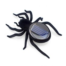 Mini Solar Energy Powered Spider Insect Robot Toy