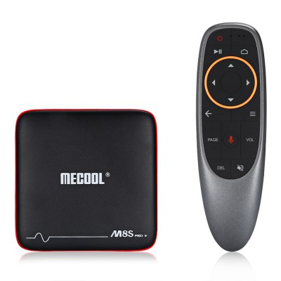Mecool M8S PRO W 2.4G with Andriod TV OS Support Voice Control TV Box