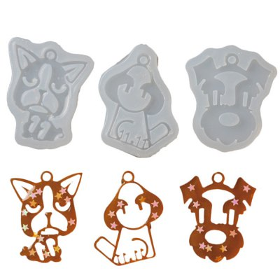 Cute Animal Mould Tool 3PCS