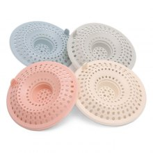 Silicone Drain Stopper Protector for Sink Shower Stall 4pcs