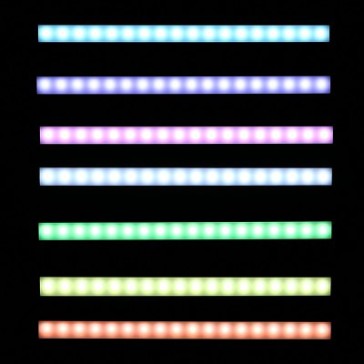 LED Bar Tube Light Dimmable for Cabinet Kitchen 5W 3PCS