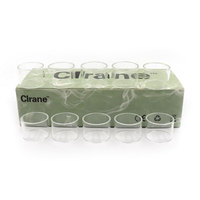 Clrane Replacement Glass Tube 10pcs