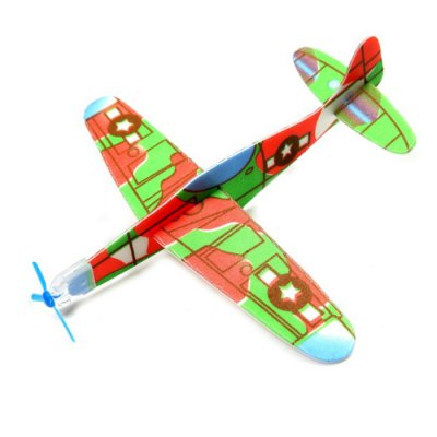 Foam Hand-throwing Whirly Glider Airplane Model Toy