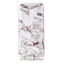 TPU Marble Pattern Back Case for Samsung Galaxy S9 Plus