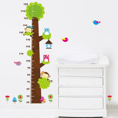 PVC Height Wall Sticker Animals Style Mural Decal