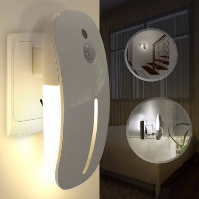 9-LED Mouse Shape Night Lights PIR Motion Sensor Lamp