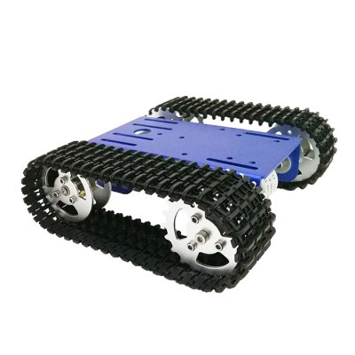 T101 Mini stat Tank Chassis DIY Smart Robot Moving Plate