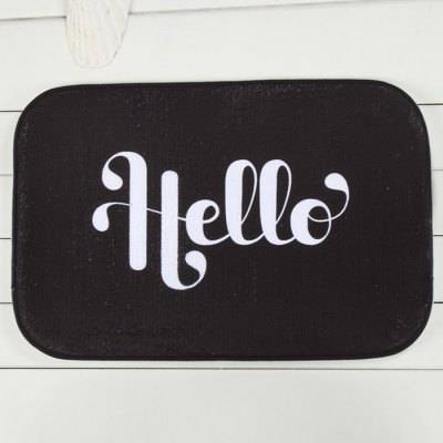 Creative Anti-skid Letter Floor Mat
