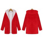 Christmas Hooded Fuzzy Coat deal