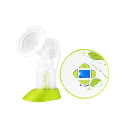 Gland Electronics P - 7 Electric PP Breast Pump for MotherFeeding<br>Gland Electronics P - 7 Electric PP Breast Pump for Mother<br><br>Brand: Gland Electronics<br>Package Contents: 1 x Breast Pump, 1 x Adapter, 1 x Milk Bottle, 1 x Silicone Valve, 1 x Bottle Base, 1 x Nipple Holder, 1 x Dust Cover, 1 x Back Flow Protection Tee, 1 x Silicone Pad, 1 x Silicone Pipe, 1 x Host<br>Package size (L x W x H): 24.80 x 15.80 x 14.90 cm / 9.76 x 6.22 x 5.87 inches<br>Package weight: 1.200 kg<br>Product size (L x W x H): 13.00 x 13.00 x 4.50 cm / 5.12 x 5.12 x 1.77 inches<br>Product weight: 1.010 kg<br>Type: Breast Pump<br>Voltage: 110V