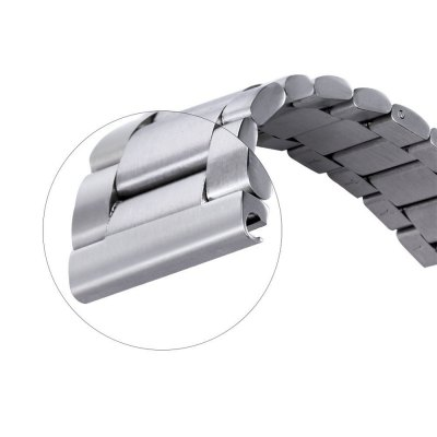 20MM Three Bead Strap for moto 360 2 Smart WatchWatch Accessories<br>20MM Three Bead Strap for moto 360 2 Smart Watch<br><br>Color: Black,Silver<br>Material: Stainless Steel<br>Package Contents: 1 x 20MM Strap for moto 360 2 Smart Watch, 3 x Spring Bar<br>Package size (L x W x H): 22.00 x 5.00 x 1.60 cm / 8.66 x 1.97 x 0.63 inches<br>Package weight: 0.130 kg<br>Product size (L x W x H): 17.30 x 2.00 x 1.00 cm / 6.81 x 0.79 x 0.39 inches<br>Product weight: 0.073 kg<br>Type: Smart watch / wristband band
