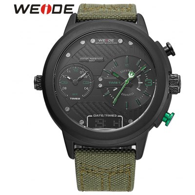 WEIDE 6405 Men Dual Movt Watch