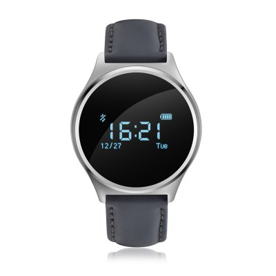 M7 Smart Watch for Android iOS System SmartphonesSmart Watches<br>M7 Smart Watch for Android iOS System Smartphones<br><br>Alert type: Vibration<br>Band material: Leather<br>Band size: 23 x 2 cm / 9.06 x 0.79 inches<br>Battery  Capacity: 90mAh<br>Bluetooth calling: Phone call reminder<br>Bluetooth Version: Bluetooth 4.0<br>Built-in chip type: NRF51822<br>Case material: Alloy<br>Charging Time: About 2hours<br>Compatability: Android 4.3 / iOS 8.0 and above systems<br>Compatible OS: IOS, Android<br>Dial size: 3.9 x 3.9 x 1.14 cm / 1.54 x 1.54 x 0.45 inches<br>Find phone: Yes<br>Groups of alarm: 3<br>Health tracker: Heart rate monitor,Pedometer,Sedentary reminder,Sleep monitor<br>IP rating: Life Waterproof<br>Language: English,French,German,Italian,Japanese,Korean,Russian,Simplified Chinese,Spanish,Vietnamese<br>Messaging: Message reminder<br>Notification: Yes<br>Notification type: Twitter, Facebook, WhatsApp, Wechat<br>Operating mode: Touch Screen<br>Other Function: Bluetooth, Alarm, Waterproof<br>Package Contents: 1 x M7 Smart Watch, 1 x Charging Cable, 1 x English User Manual<br>Package size (L x W x H): 10.00 x 7.00 x 7.00 cm / 3.94 x 2.76 x 2.76 inches<br>Package weight: 0.1220 kg<br>People: Female table,Male table<br>Product size (L x W x H): 23.00 x 3.90 x 1.20 cm / 9.06 x 1.54 x 0.47 inches<br>Product weight: 0.0280 kg<br>RAM: 32KB<br>Remote control function: Remote Camera<br>ROM: 256K<br>Screen: OLED<br>Screen resolution: 64 x 64<br>Screen size: 0.96 inch<br>Shape of the dial: Round<br>Standby time: 15 Days<br>Type of battery: Li-polymer Battery<br>Waterproof: Yes