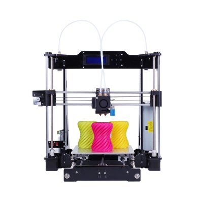 Zonestar P802NR2 3D Printer3D Printers, 3D Printer Kits<br>Zonestar P802NR2 3D Printer<br><br>Brand: ZONESTAR<br>Engraving Area: 220 x 220 x 230mm<br>File format: G-code, OBJ, STL<br>Frame material: Acrylic plate<br>Language: Chinese,English,Portuguese,Spanish<br>Layer thickness: 0.1-0.4mm<br>LCD Screen: Yes<br>Material diameter: 1.75mm<br>Model: P802NR2<br>Model supporting function: Yes<br>Nozzle diameter: 0.4mm<br>Nozzle quantity: Double<br>Nozzle temperature: 170-275 Degree<br>Package size: 47.00 x 48.00 x 60.00 cm / 18.5 x 18.9 x 23.62 inches<br>Package weight: 10.0500 kg<br>Packing Contents: 1 x Printer, 1 x Power Adapter<br>Platform board: Aluminum Base<br>Platform temperature: Room temperature to 110 degree<br>Print speed: 40 - 100mm/s<br>Product size: 40.00 x 46.00 x 41.50 cm / 15.75 x 18.11 x 16.34 inches<br>Product weight: 7.5000 kg<br>Supporting material: PC, ABS, Flexible PLA, HIPS, Wood, PLA, Nylon<br>Type: Complete Machine<br>XY-axis positioning accuracy: 0.012mm<br>Z-axis positioning accuracy: 0.0025mm