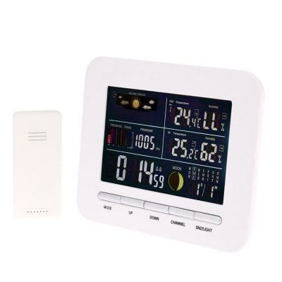 TS - 76 Multi-functional LCD Digital Weather Forecast