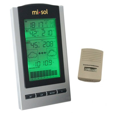 WH - 1150 Multi-functional LCD Digital Weather Forecast