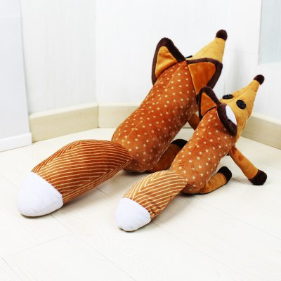 Sweet fox plush doll stuffed cartoon toys for kids...