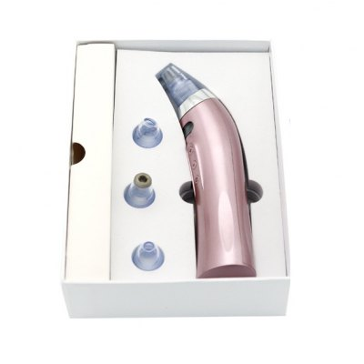 Electric Blackhead Vacuum Suction Tool Acne RemoverSkin Care<br>Electric Blackhead Vacuum Suction Tool Acne Remover<br><br>Color: Pink<br>Material: ABS,  PP<br>Package Contents: 1 x Pore Cleanser, 4 x Suction Head, 1 x USB Cable, 1 x English User Manual<br>Package size (L x W x H): 20.00 x 16.45 x 5.70 cm / 7.87 x 6.48 x 2.24 inches<br>Package weight: 0.8300 kg<br>Power (W): 5<br>Product size (L x W x H): 18.00 x 4.70 x 4.70 cm / 7.09 x 1.85 x 1.85 inches<br>Product weight: 0.4700 kg<br>Voltage (V): DC 5