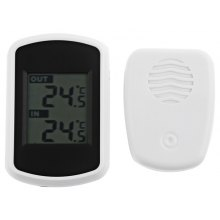 Wireless Indoor Outdoor LCD Digital Thermometer