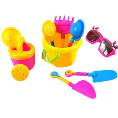 9pcs Beach Shower Intelligence-benefit Toy