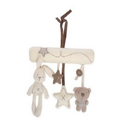 Baby Hanging Rattle Soft Plush Toy
