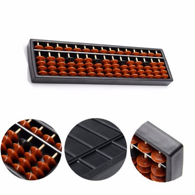 Plastic Abacus with 15 Line 5 Bead for Math