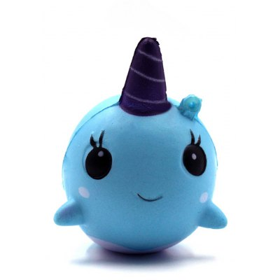 Cute Whale Squishy Toy