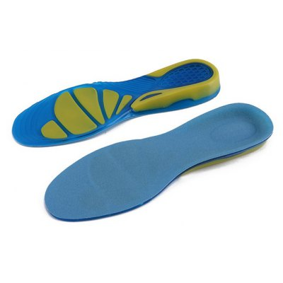 Paired Silicone Boot Shoes Insoles Insert Pad