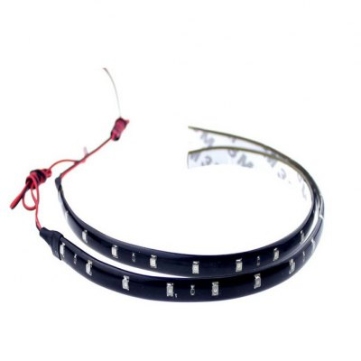 3W 12V 15 SMD LEDs Waterproof Car Light Strip