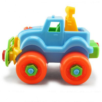 Disassembly SUV Toy for Developing Intelligence
